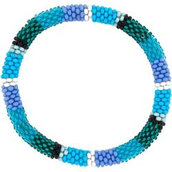 Bay Studio Blue Green Multi Seed Bead Bracelet
