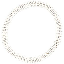 Bay Studio White Seed Bead Bracelet