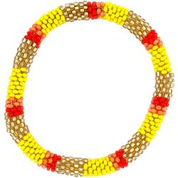 Bay Studio Yellow Red Multi Seed Bead Bracelet