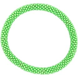 Bay Studio Lime Green Seed Bead Bracelet