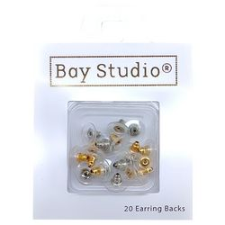Jewelry Made By Me 20-pc. Clutch Disc Earring