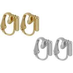 4-pc. Pierced To Clip Earring Converters