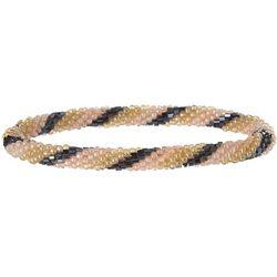 Bay Studio Pink Hematite Multi Roll On Bracelets
