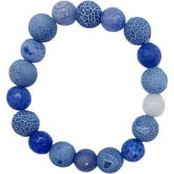 Bay Studio Blue Beaded Stretch Bracelet