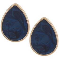 Bay Studio Enamel Teardrop Stud Earrings