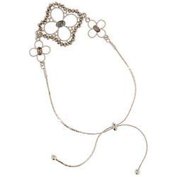 Bay Studio Beaded Floral Slider Bracelet