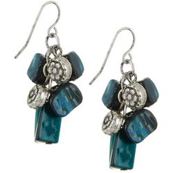 Bay Studio Shell Beaded Waterfall Drop Earrings