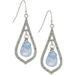 Bay Studio Blue Teardrop Dangle Earrings