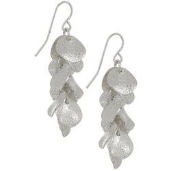 Bay Studio Duster Silver Tone Dangle Earrings