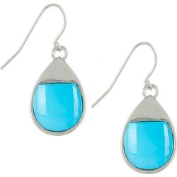 Bay Studio Aqua Blue Teardrop Earrings