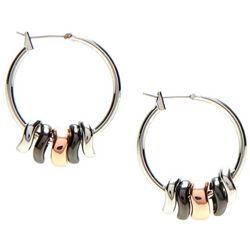 Nine West Shaky Hoop Earrings