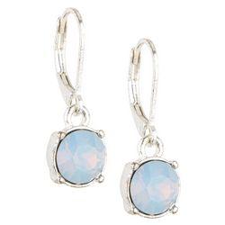 Gloria Vanderbilt Opal Crystal Drop Earrings