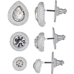 Napier 3-pc. Textured Stud Earring Set