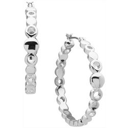 Nine West Ringed Hoop Earrings