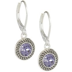 Napier Swarovski Elements Dangle Earrings