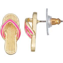 Flip Flop Stud Earrings