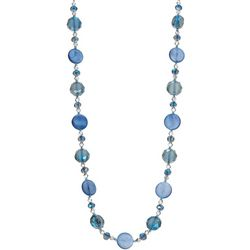 Napier Cool Tone Beaded Necklace