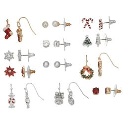 Napier 12-Pc. Holiday Earrings Set