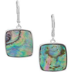 Nine West Abalone Drop Earrings