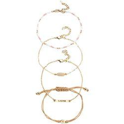 Napier Multi Disc Link Stretch Bracelet