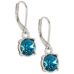 Gloria Vanderbilt Indicolite Crystal Drop Earrings