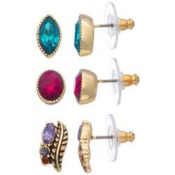 Napier 3-pc. Color Me Stud Earring Set