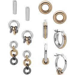Nine West 6-pc. Hoop & Drop Earrings