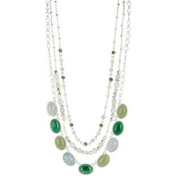 Chaps 3-Row Statement Necklace
