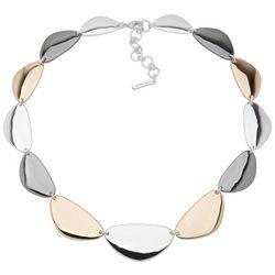Nine West Tri-Tone Collar Necklace