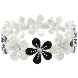 Gloria Vanderbilt Flower Power Stretch Bracelet
