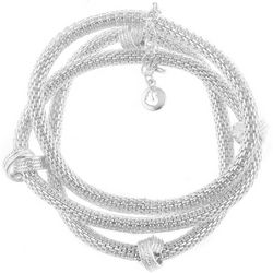 Gloria Vanderbilt Triple Mesh Stretch Bracelets