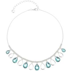 Gloria Vanderbilt Teardrops Snake Chain Necklace