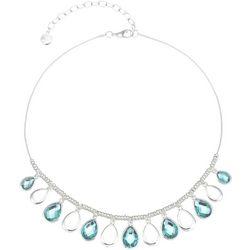 Gloria Vanderbilt Teardrops Snake Chain Necklace
