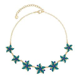 Gloria Vanderbilt Enamel Starfish Frontal Necklace