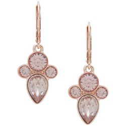 You're Invited Rose Gold Tone Multi-Faceted Earrings