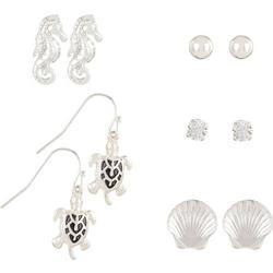 5-Pk. Sea Creature Earrings