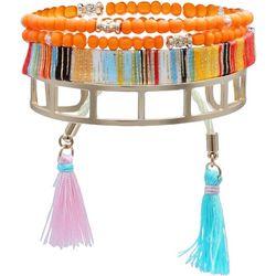 Bay Studio 4 Pc Cuff Bead & Friendship Bracelets
