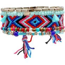 5 Pc Bead & Friendship Bracelets