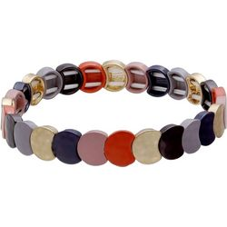 Bay Studio Colorful Tiles Link Stretch Bracelet