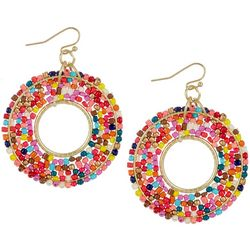 Bay Studio Multi Seedbead Wrapped Earrings