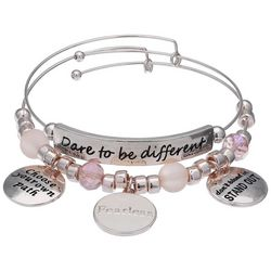 Jules B Dare To Be Different Bangle Bracelet Set