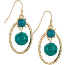 Bay Studio Glass Bead Drop Earrings