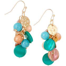 Bay Studio Beads & Discs Cluster Earrings