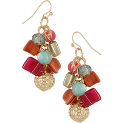 Bay Studio Shell & Bead Cluster Earrings