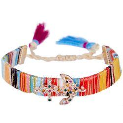 Bay Studio Multi Anchor Charm Friendship Bracelet