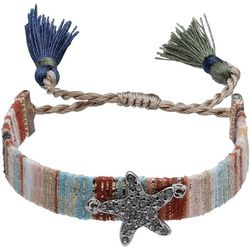 Bay Studio Starfish Adjustable Friendship Bracelet