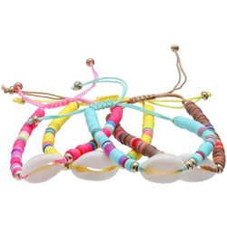 Bay Studio 4 Row Cowrie Shell Friendship Bracelets