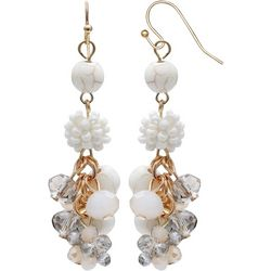 Bay Studio Cluster Bead Earrings