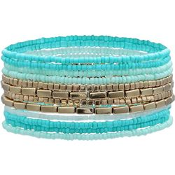 Bay Studio 12 Row Beaded Stretch Bracelet