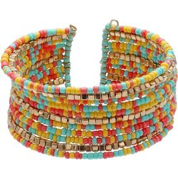 Bay Studio Multi Seed Bead Cuff Bracelet
